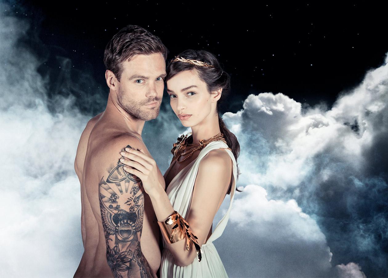 Invictus et Olympea Intense Le Nouveau Couple Divin de Paco Rabanne