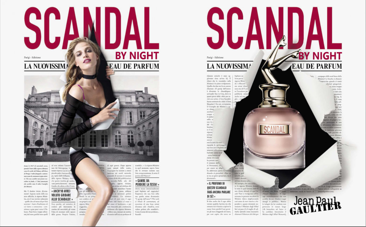 Scandal by Night Le Nouveau parfum Femme de Jean Paul Gaultier