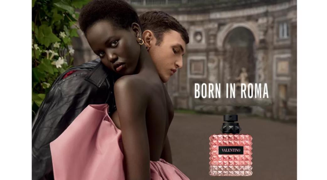 Born in Roma Le nouveau couple de parfums pour homme et femme de Valentino