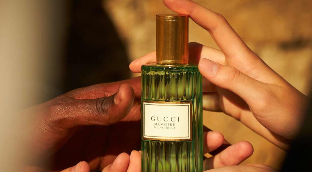 Mémoire d'une odeur Gucci Le nouveau parfum mixte de Gucci