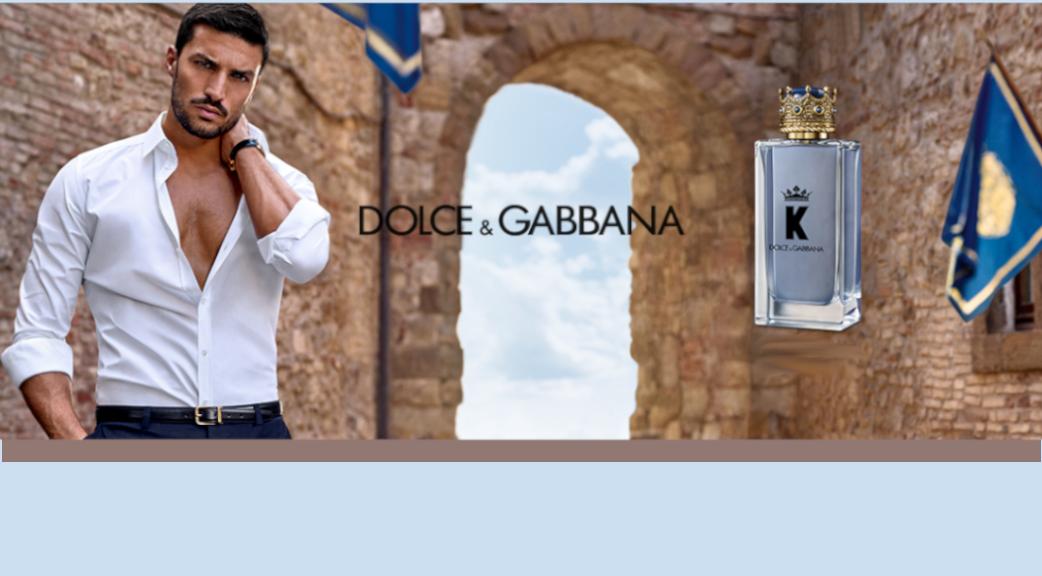 K by Dolce & Gabbana Le nouveau parfum pour homme de Dolce & Gabbana