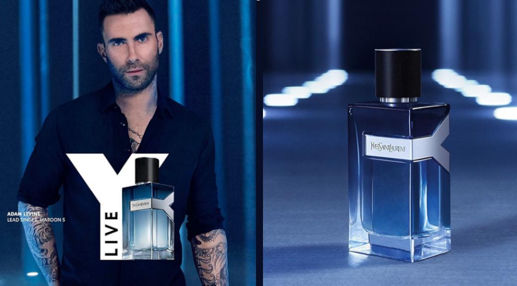 Y Live Eau de Toilette Intense Le nouveau parfum pour homme de Yves Saint Laurent