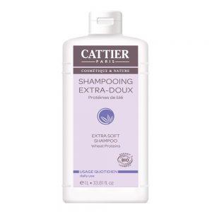 Cattier Shampoing Extra Doux Protéines de Ble